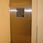 automatic hinged door for hospitals